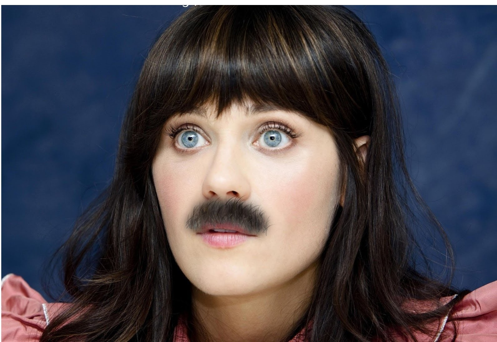 Hollywood Actresses with mustaches