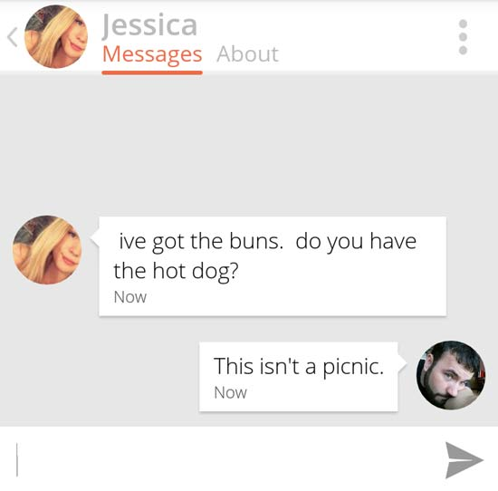 Epic Messages Sent On Tinder