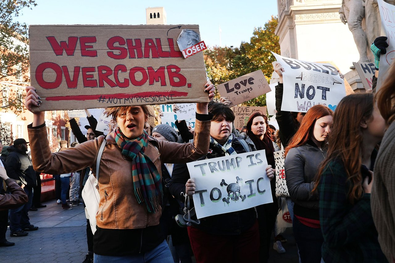 anti trump protests 9