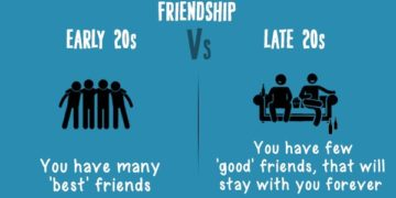 early twenties vs late twenties friendships cover
