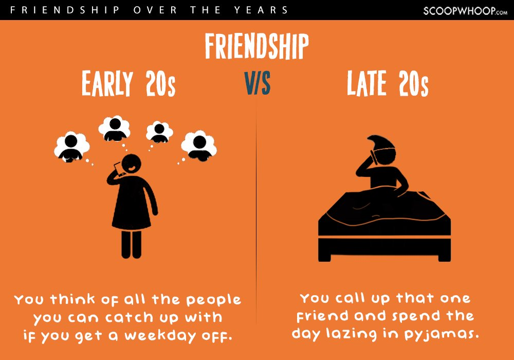 What Being Single Is Like In Your Early 20s Vs. Late 20s