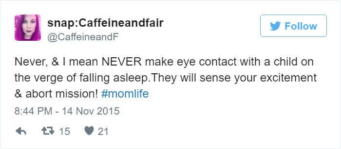 hilarious tweets by moms