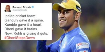 ms dhoni tweets cover