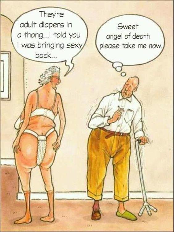 real life oldage comics