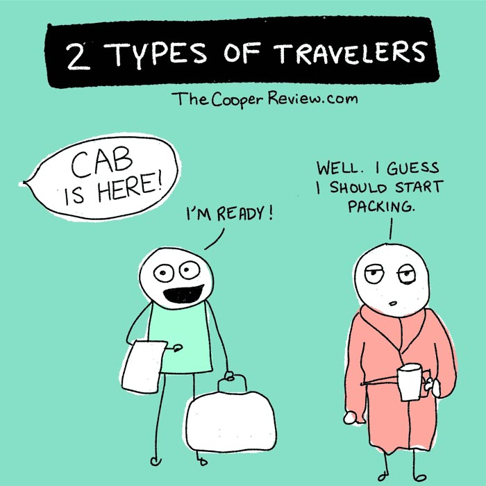 type of travelers