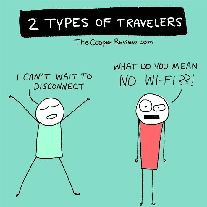 type of travelers