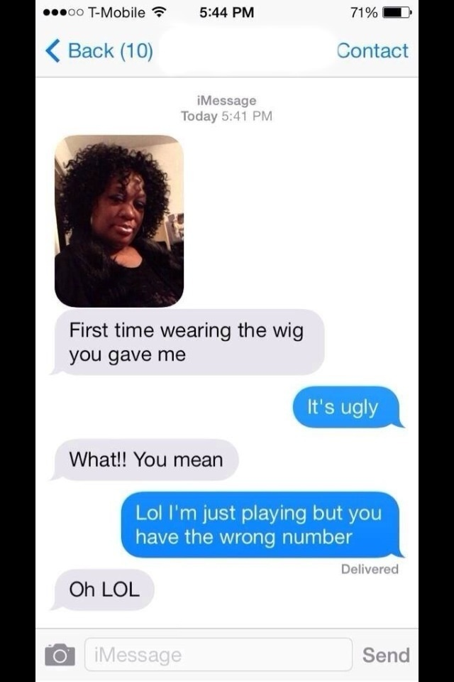 wrong number texts 7
