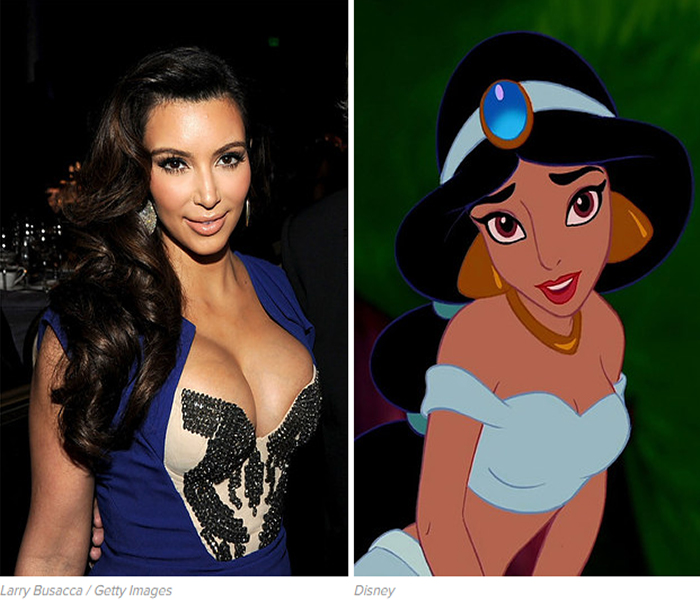 Celebrities-Who-Have-Cartoon-Twins-4