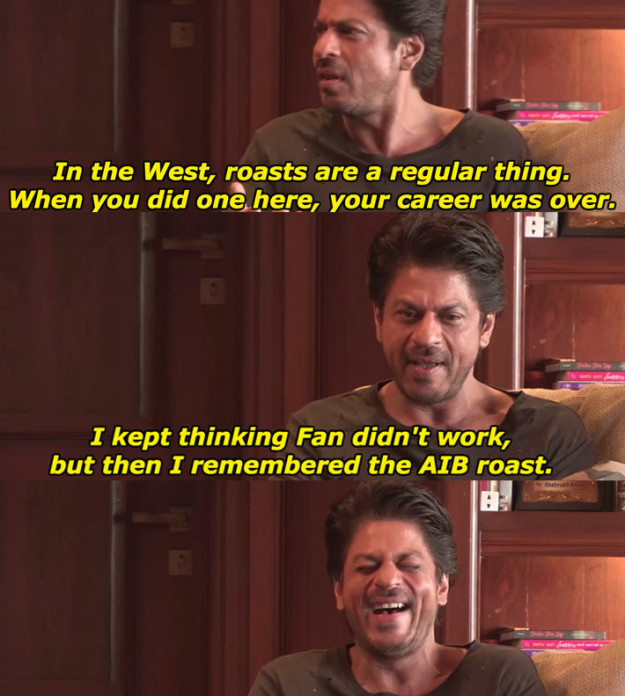 aib podcast with srk