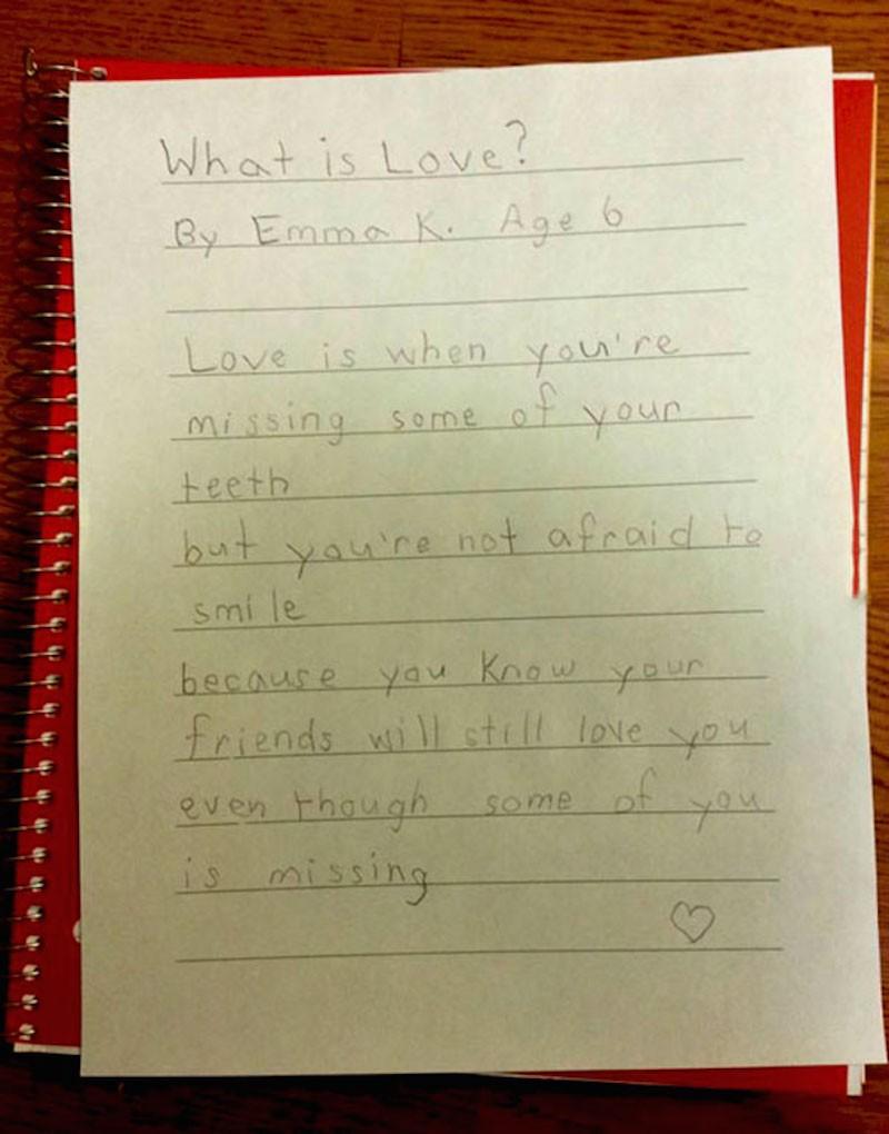 honest valentine cards