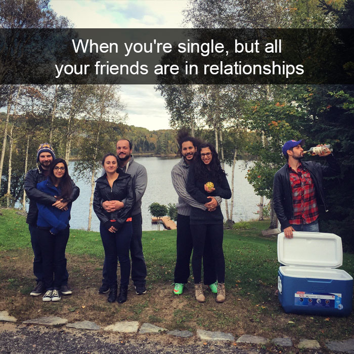 jokes about being single
