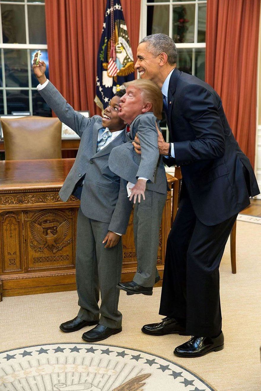 tiny trump photos