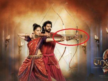 Bahubali 2 trailer mistakes