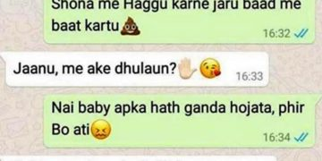 funny whatsapp chat
