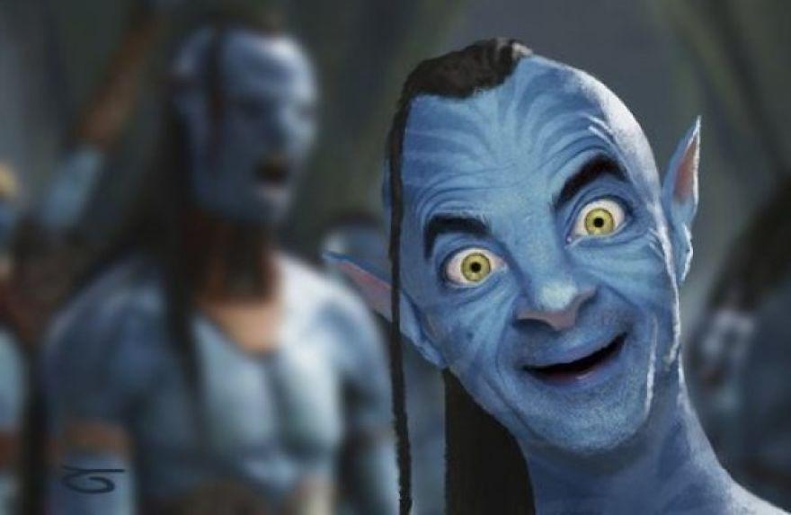 mr. bean photoshopped