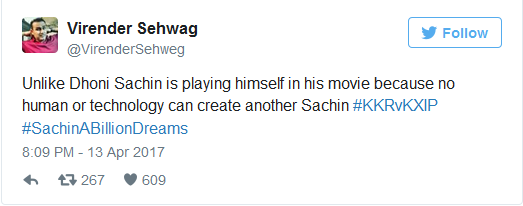 Reactions On Sachin Biopic Trailer