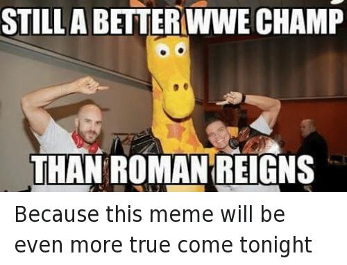 Roman Reigns Memes