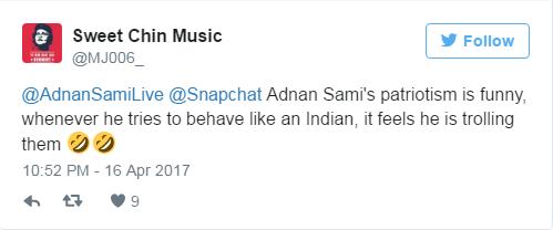 adnan sami trolls pakistan