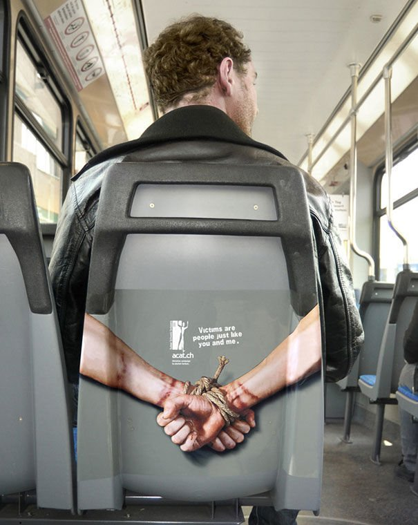 funny ambient ads