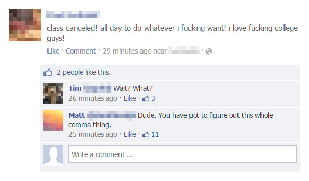 funny grammar and spelling fails