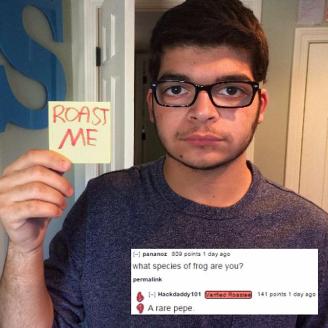 roast me images