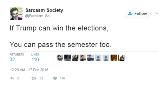 sarcasm society tweets