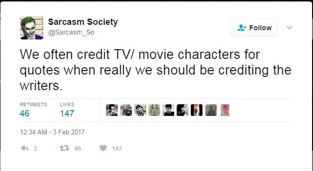 sarcasm society tweets