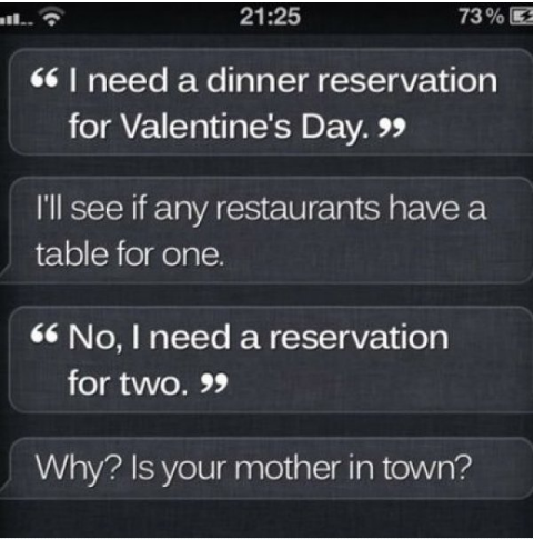 sassiest responses from siri