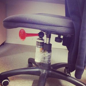 pranks on co-workers