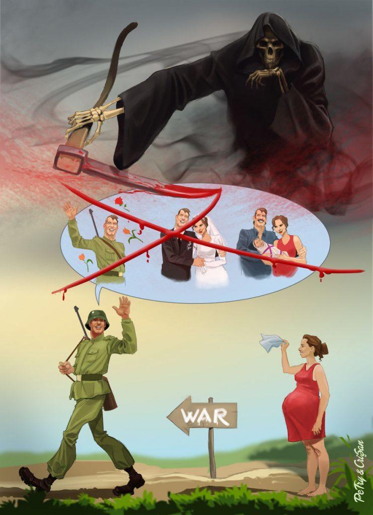 the harsh realities of war