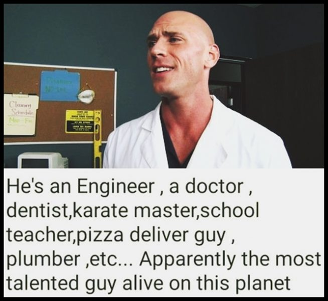 7 Reasons Why Johnny Sins Is A Perfect Role Model For All
