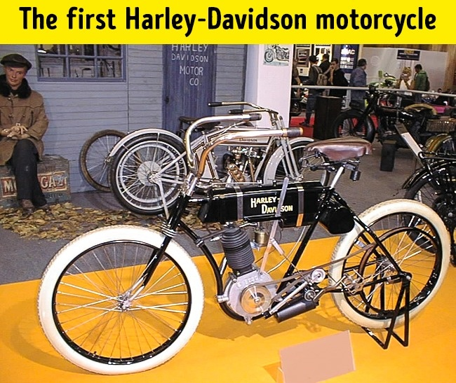 first harley-davidson motersycles