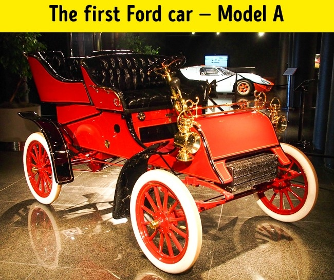 first ford car