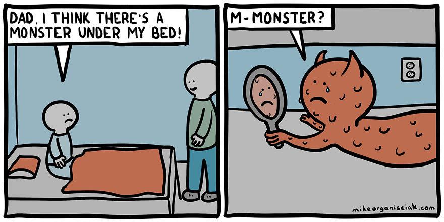dark humour comics