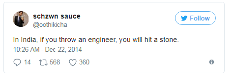 engineering tweets