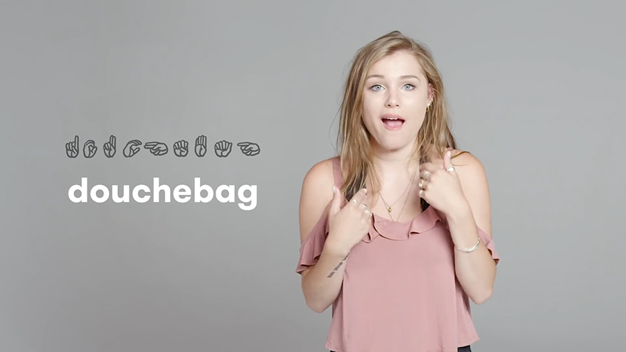 Deaf People Show How To Swear In Sign Language