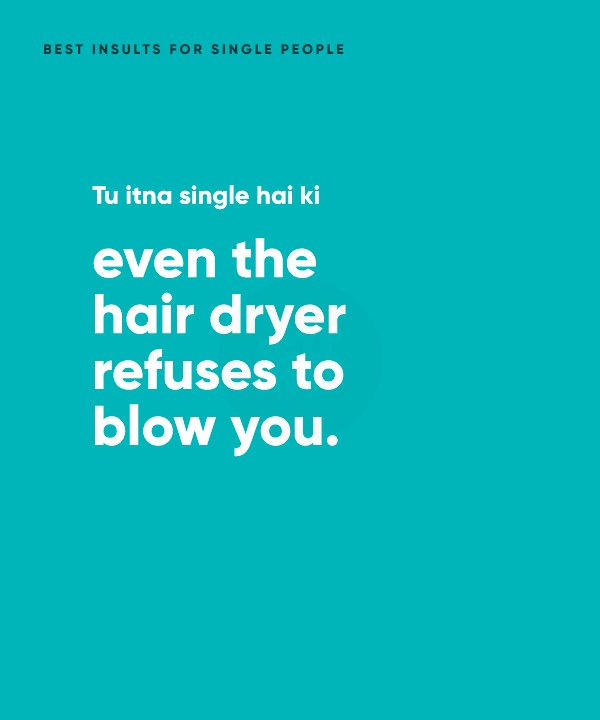 Best Insults For Single People