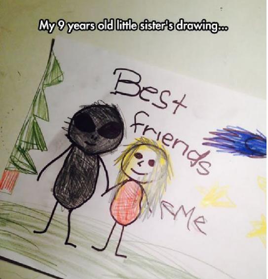 Hilarious Kids Drawings