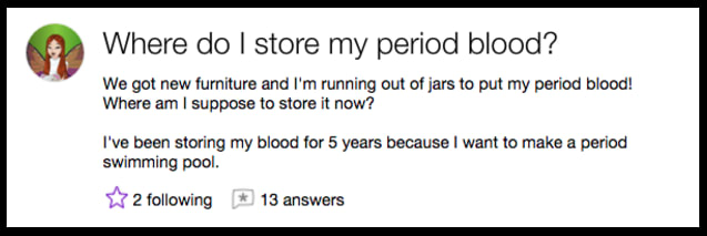 Hilarious Yahoo Questions