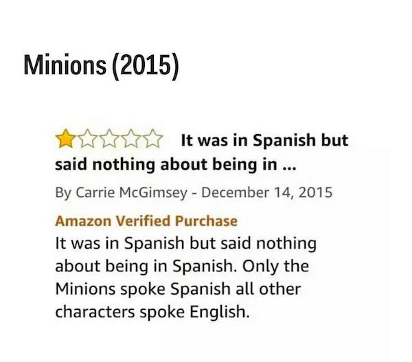 Movie Reviews On Amazon