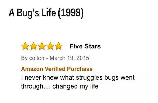 Movie Reviews On Amazon