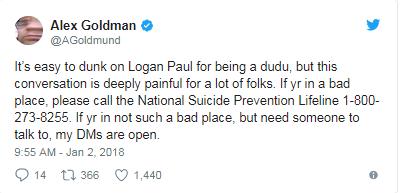 logan paul controversy